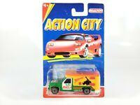 Realtoy Action City Series Africa Expedition Chevy Truck Camper 1/64 NEW NOC
