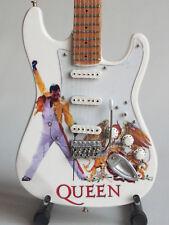 Guitare miniature Stratocaster - Queen - Freddie Mercury