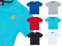 New Boys Horse Embroidered Cotton TShirt Kids Multipack Casual Holiday Top Cheap