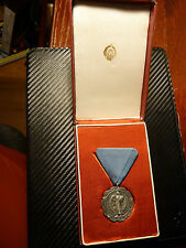VERY RARE! Yugoslavia Serbia MERIT Medal award order Box 845 awarded SFRY