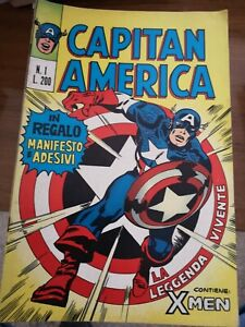 Capitan America  Editoriale Corno dal n. 1 al n. 22 prima serie