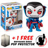 FUNKO POP VINYL MARVEL X-MEN MISTER SINISTER #624 EXCLUSIVE FIGURE + PROTECTOR