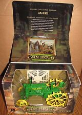 John Deere BW Tractor Umbrella 1/16 Ertl Toy 200th BIRTHDAY LIMITED EDITION 2004