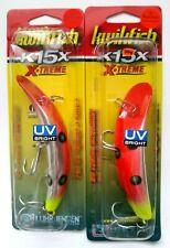 2 - K15X KWIKFISH Xtreme Rattle Flo Red / Chrt UV   Item KW 21