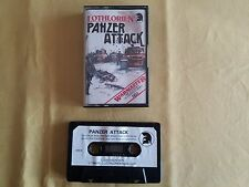 Msx Game GAME CASSETTE TAPE Panzer Attack Vintage Retro Gaming 1984