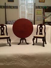 """18"""" Doll Furniture Kingstate Tilt Top Tea Table And 2 Chairs"""