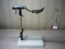 HOMEMADE FLY TYING VISE WITH PEDESTAL BASE