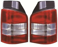 VW Transporter T5 (2003-2015) Pair Rear Tail Lamp - Right and Left Side