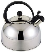 Sabichi 2.5 Litre Stainless Steel Whistling Kettle Induction Stove Top Kettle