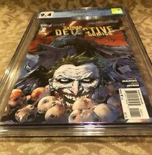 Batman Detective Comics #1 CGC 9.4 (Nov 2011) - 1st Print - Joker Appearance!