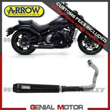 Full Exhaust Arrow Rebel Steel Black Kawasaki Vulcan S 650 2017 > 2019