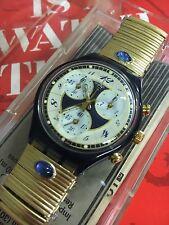 VINTAGE Swatch CHRONO VOLUPTE Flex Band SCM104 SCM105 NEW 1994
