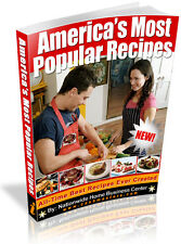 AMERICA'S MOST POPULAR RECIPES PDF EBOOK FREE SHIPPING RESALE RIGHTS