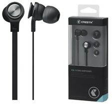 CRESYN P30 Black In Ear Earphones Headphones Clean & Balanced Acoustic Sound