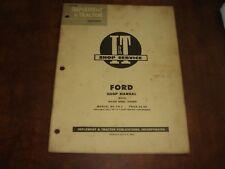 I&T Ford Major Diesel Eiaddn Ferguson Shop Service Repair Manual FO-6