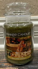 Yankee Candle Autumn Lodge 22 Oz Large Jar Candle New Fall