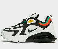 2020 Nike Air Max 200 GS ® ( UK Size: 5.5 EUR 38.5 ) Black / White Latest NEW