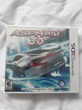 ASPHALT 3D Nintendo 3ds video game system brand new factory sealed rare