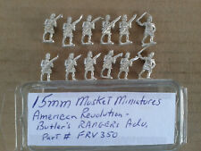15mm Musket Miniatures  American revolution  Butlers Rangers  advancing