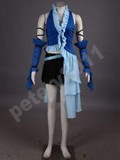 Final Fantasy x Yuna Cosplay Costume Singing Uniform Game Cosplay Costumes