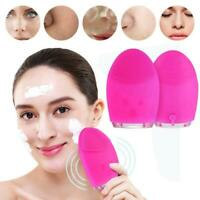 Silicone Electric Face Cleansing Brush Facial Cleaner Clean Massage Machine