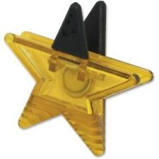 Ashley Star Magnet Clip - Star - Magnetic - Gold - 1 Each (ash-102339)