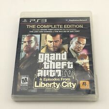 Grand Theft Auto IV The Complete Edition PS3 Episodes from Liberty City USED