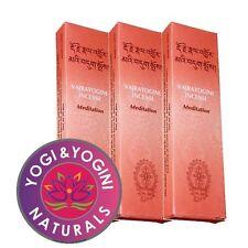 3 paquets d'encens tibétain - Vajrayogini - Meditation - env. 60 gr.