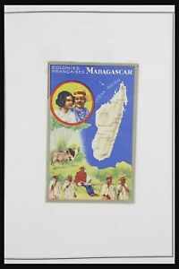 Lot 32054 Collection stamps of Madagascar 1892-1976.