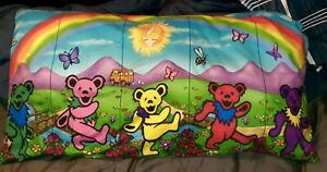 Grateful Dead Pillow Case  Dancing Bears KING SIZE $14.99 SUPER SOFT