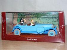 TINTIN Herge Coche LINCOLN TORPEDO Los Cigarros del Faraon miniature car 1/43
