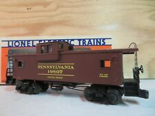 LIONEL TRAIN SMOKING PRR PENNSYLVANIA EXTENDED VISION CABOOSE CAR W/BOX 6-19807