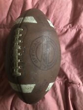 Vintage Ted Williams Sporting Goods Leather Football Laces Model 2444 Rare Ball