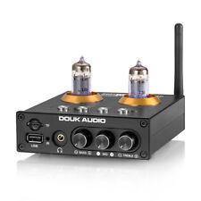 Mini Bluetooth 5.0 Preamplificador de tubo de vacío HIFI USB Reproductor Estéreo Audio Amplificador De Auriculares