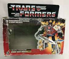Rare 1984 Vintage G1 Transformers Snarl Original Box Only No Action Figure