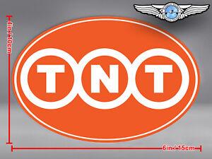 TNT CARGO OVAL LOGO STICKER / DECAL