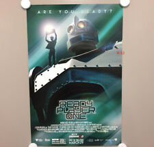 22x38 Dwayne Johnson Zac Efron Limited Edition Cinemark Baywatch Movie Poster