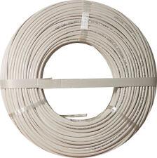 Burglar Alarm-Security Cable, 22/2 Stranded COPPER, UTP, 500FT COIL PACK, WHITE