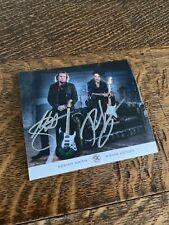 Adrian Smith Richie Kotzen Signed Card Album Promo Iron Maiden 140 x 125 mm