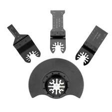 4pcs/set HCS Oscillating MultiTool Saw Blade for Renovator Power Tools Cutting