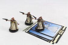 Star Wars Miniatures Rebel Storm Quarren Assassin x 3