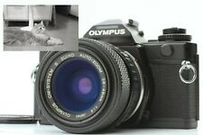 [Near MINT TESTED] OLYMPUS OM-4Ti Black Body + 28-48mm f/4 Zoom Lens From Japan