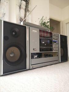 Master Boombox/Ghettoblaster JVC BA-DC7L