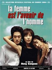 Affiche 40x60cm LA FEMME EST L'AVENIR DE L'HOMME 2003 Tae-woo Kim, Ji-tae Yu TBE