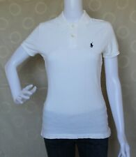 Ralph Lauren The Skinny Polo White Polo Shirt Tops