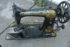 Singer 15K Antique Sewing Machine, vintage Home Decor
