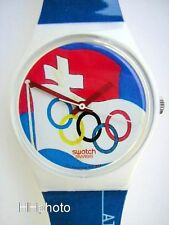 "SWATCH: ""ATLANTA GUEST / I WAS THERE"" OLYMPIC GAMES SPECIAL *NEU / TOP-RARITÄT!*"