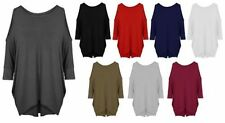 3/4 Sleeve Viscose Tunic Plus Tops and Blouses for Women