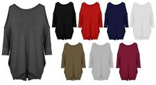3/4 Sleeve Tunic Machine Washable Plus Size Tops & Blouses for Women