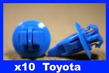 For Toyota 10  wheel arch fender flare mud splash guard panel fastener clips
